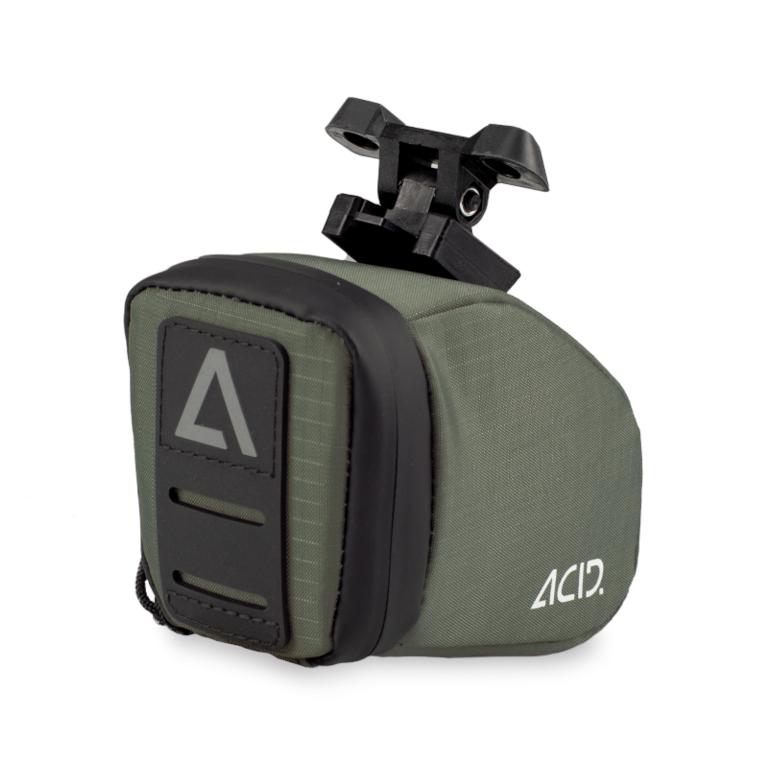 CUBE ACID CLICK Saddle Bag - S - olive