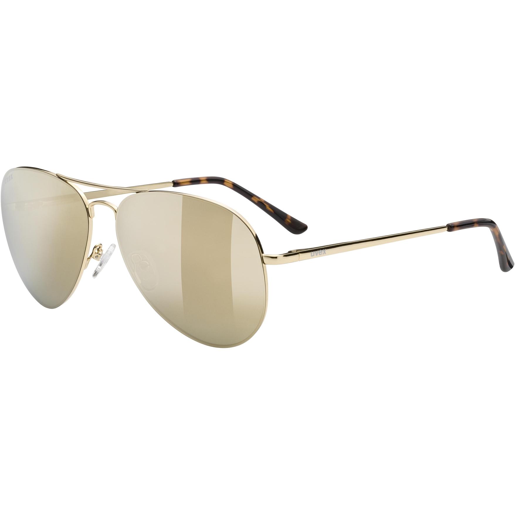Uvex lgl 45 Glasses - gold/miror gold