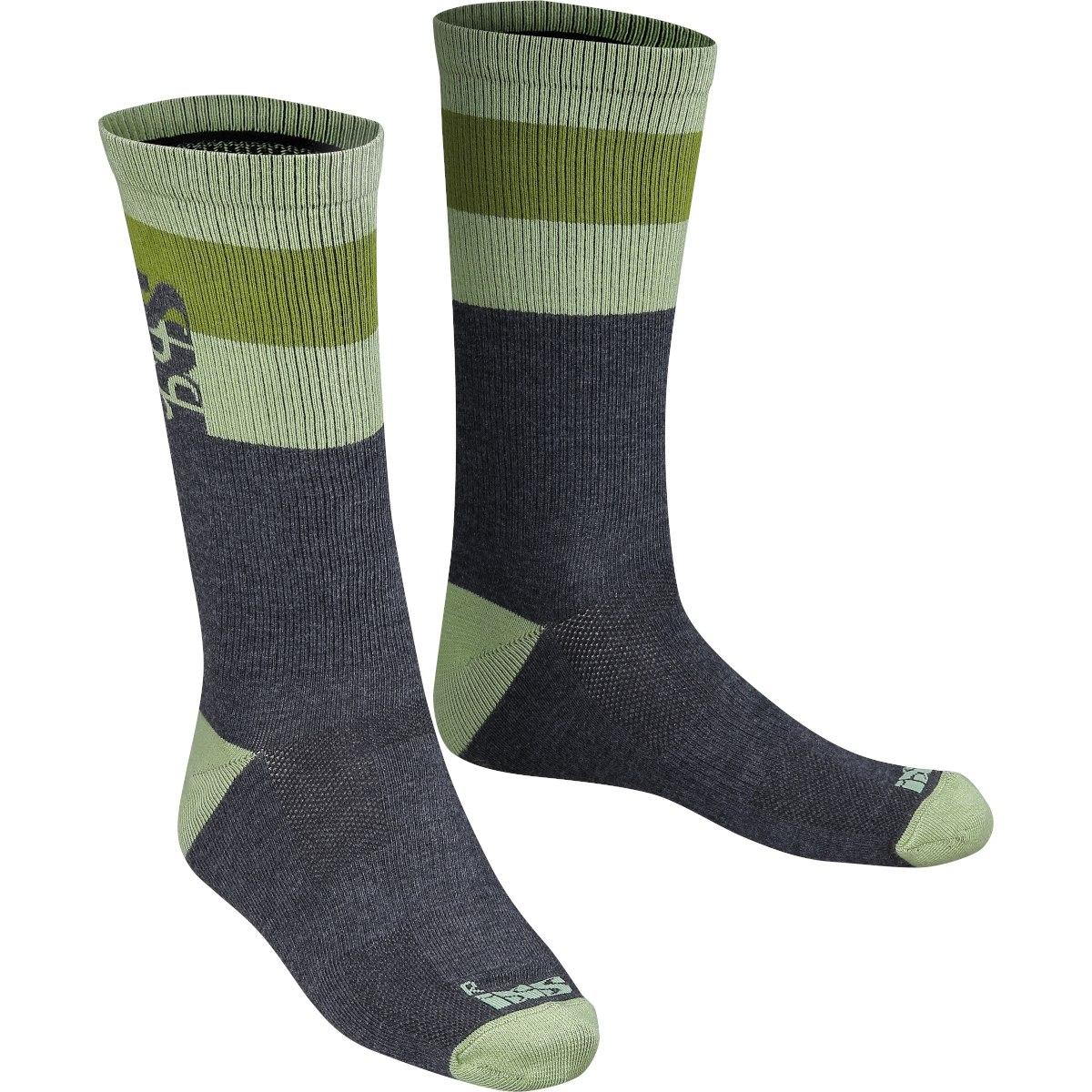 iXS Triplet Socken (3 Paare) - multicolor
