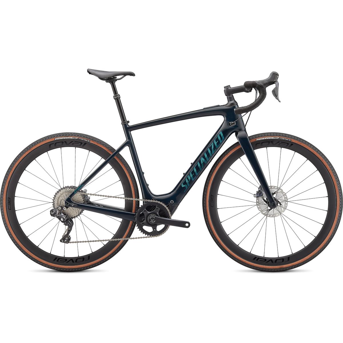 Produktbild von Specialized TURBO CREO SL EXPERT EVO - Carbon Gravel E-Bike - 2021 - forest green / chameleon