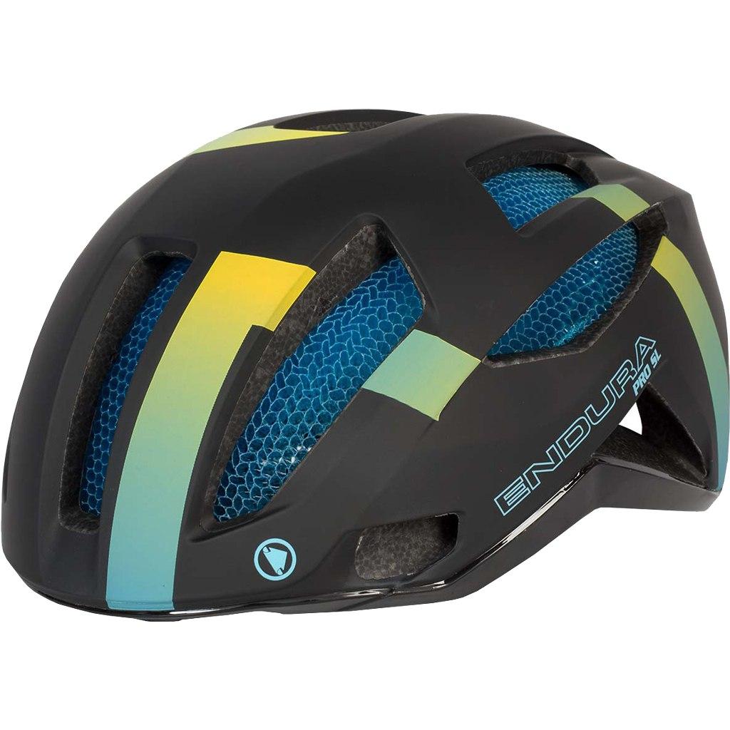 Endura Pro SL Helmet - rainbow stripe