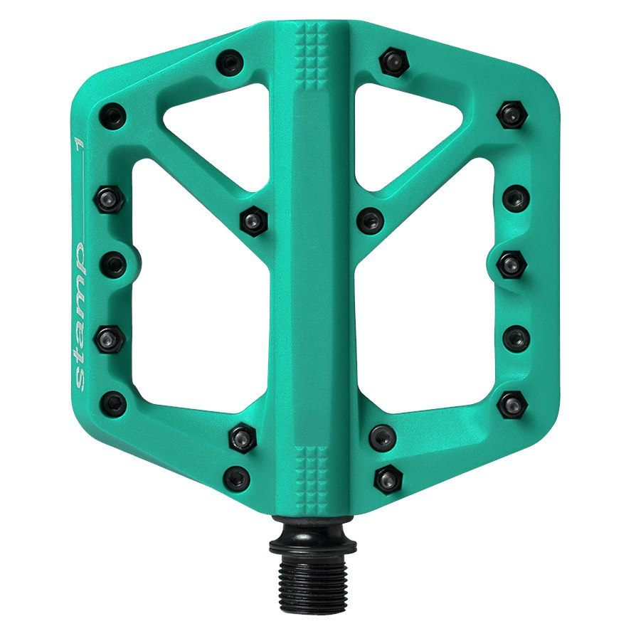Image of Crankbrothers Stamp 1 Small Flat Pedal - Splash Edition - turquoise