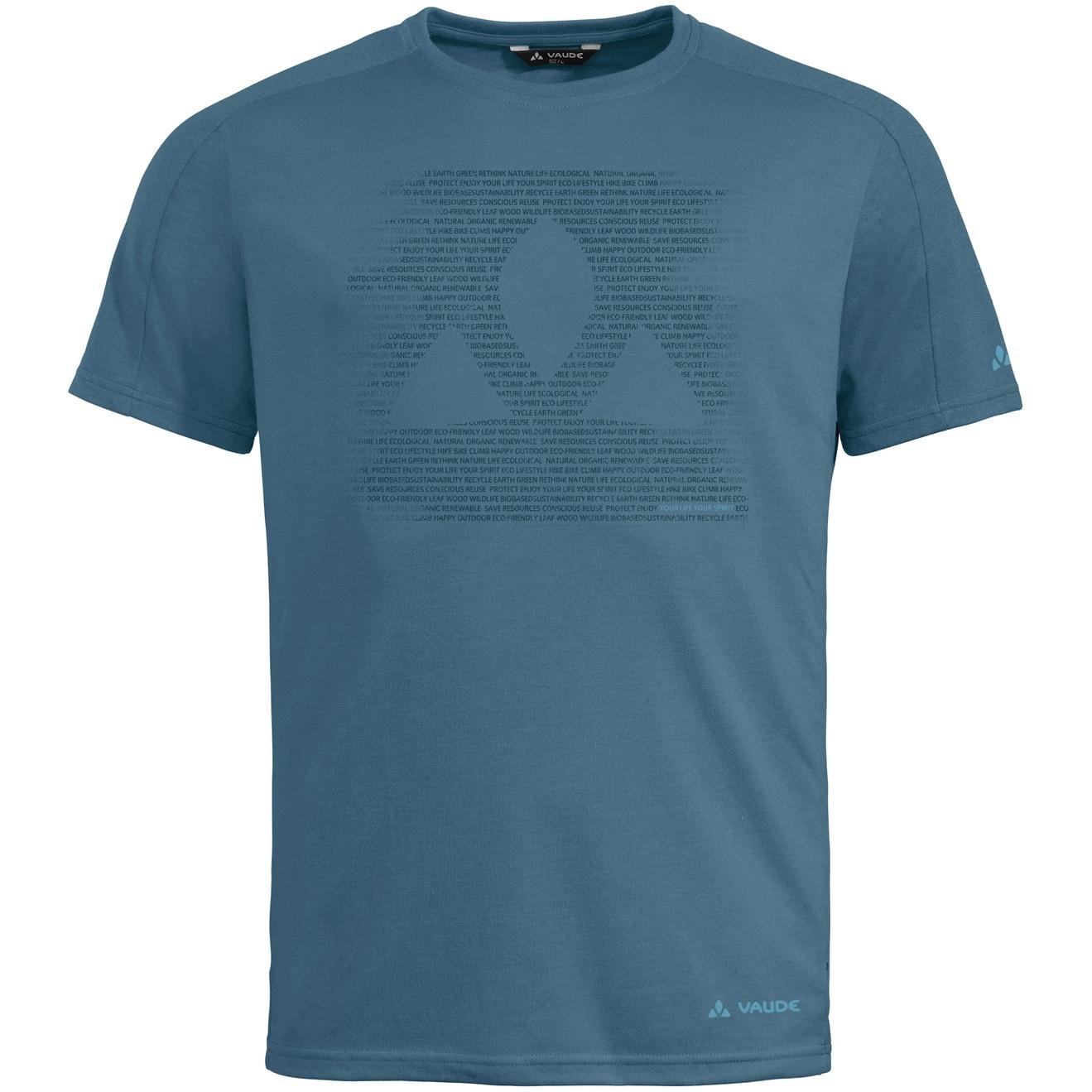 Vaude Gleann T-Shirt - blue gray uni
