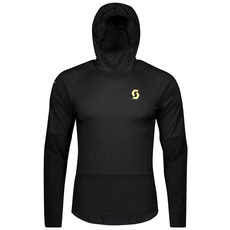 Produktbild von SCOTT Run Men's Windshield Shirt - black/yellow
