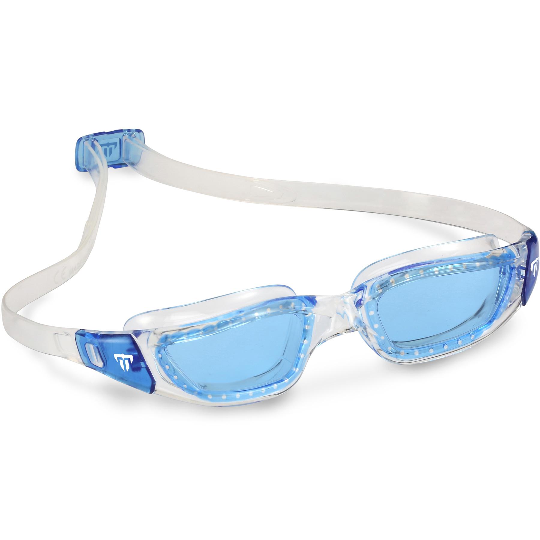 Produktbild von Phelps TIBURON Schwimmbrille - Blue - L - Clear/Blue