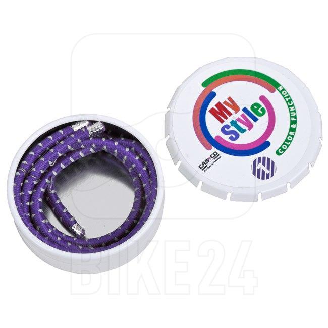Casco MyStyle Stripes - Reflective - purple
