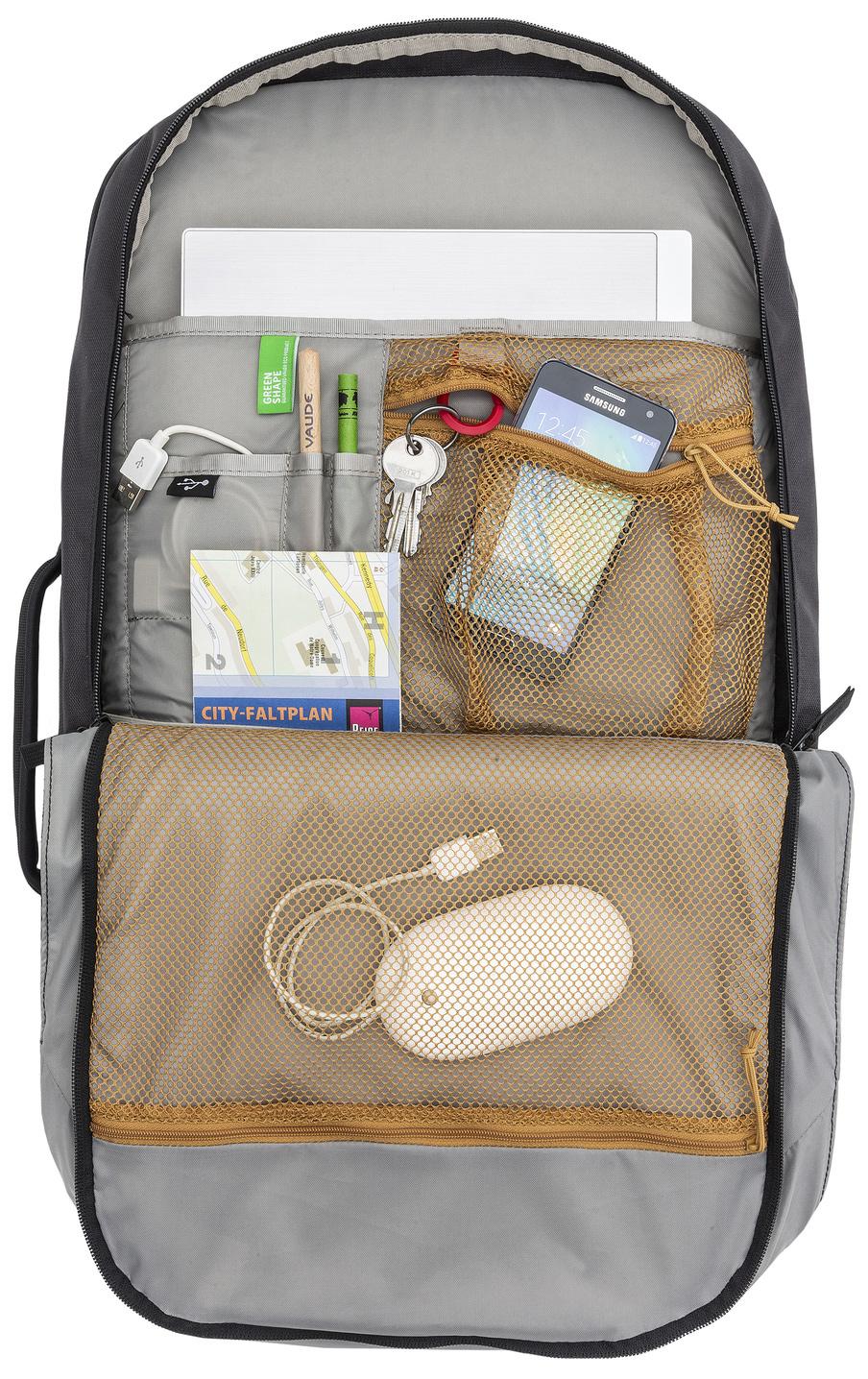 Image of Vaude Mundo Carry-On 38 Backpack - black