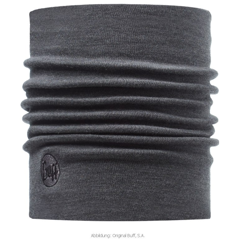 Buff® Heavyweight Merino Wool Tubular Cloth - Solid Grey