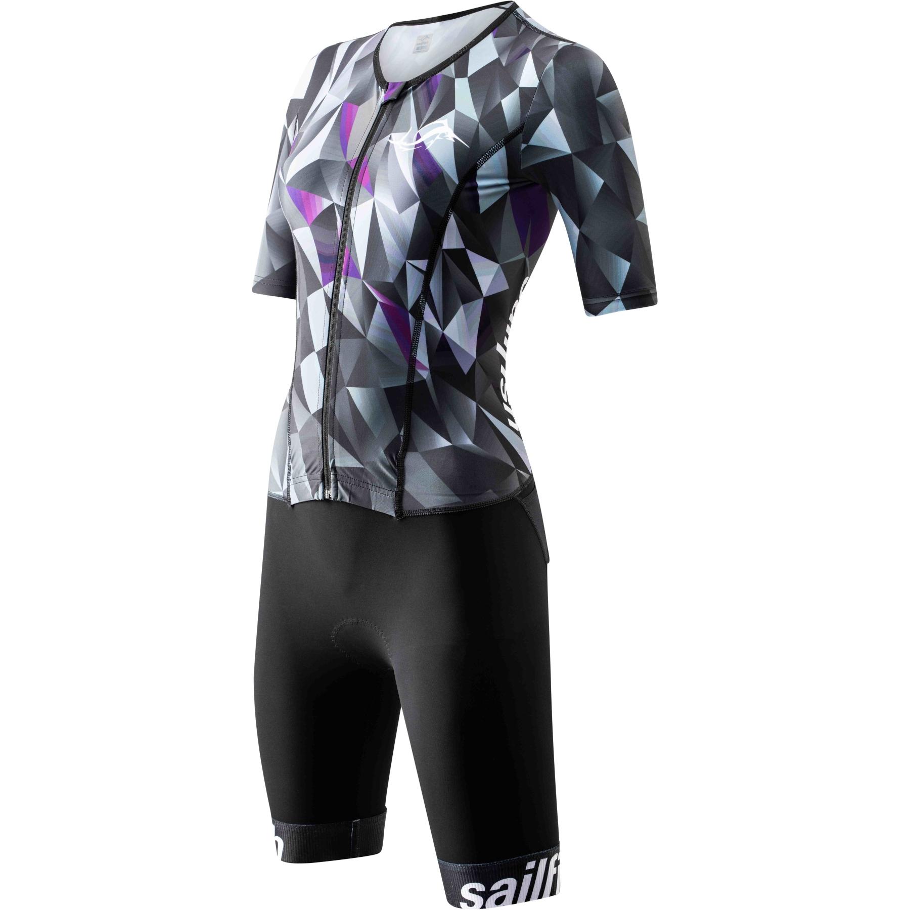 Foto de sailfish Womens Aerosuit Comp Square Mono ciclismo carretera 2021 - berry