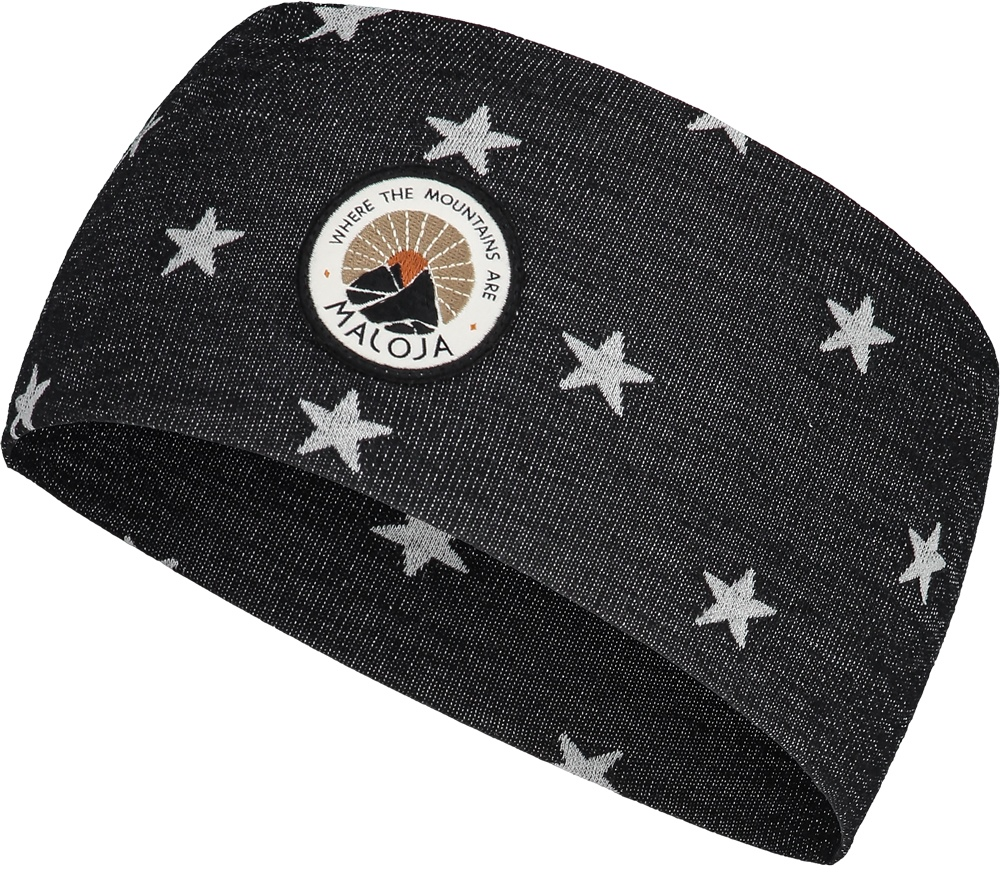 Maloja GangleyM. Headband - moonless stars 8295