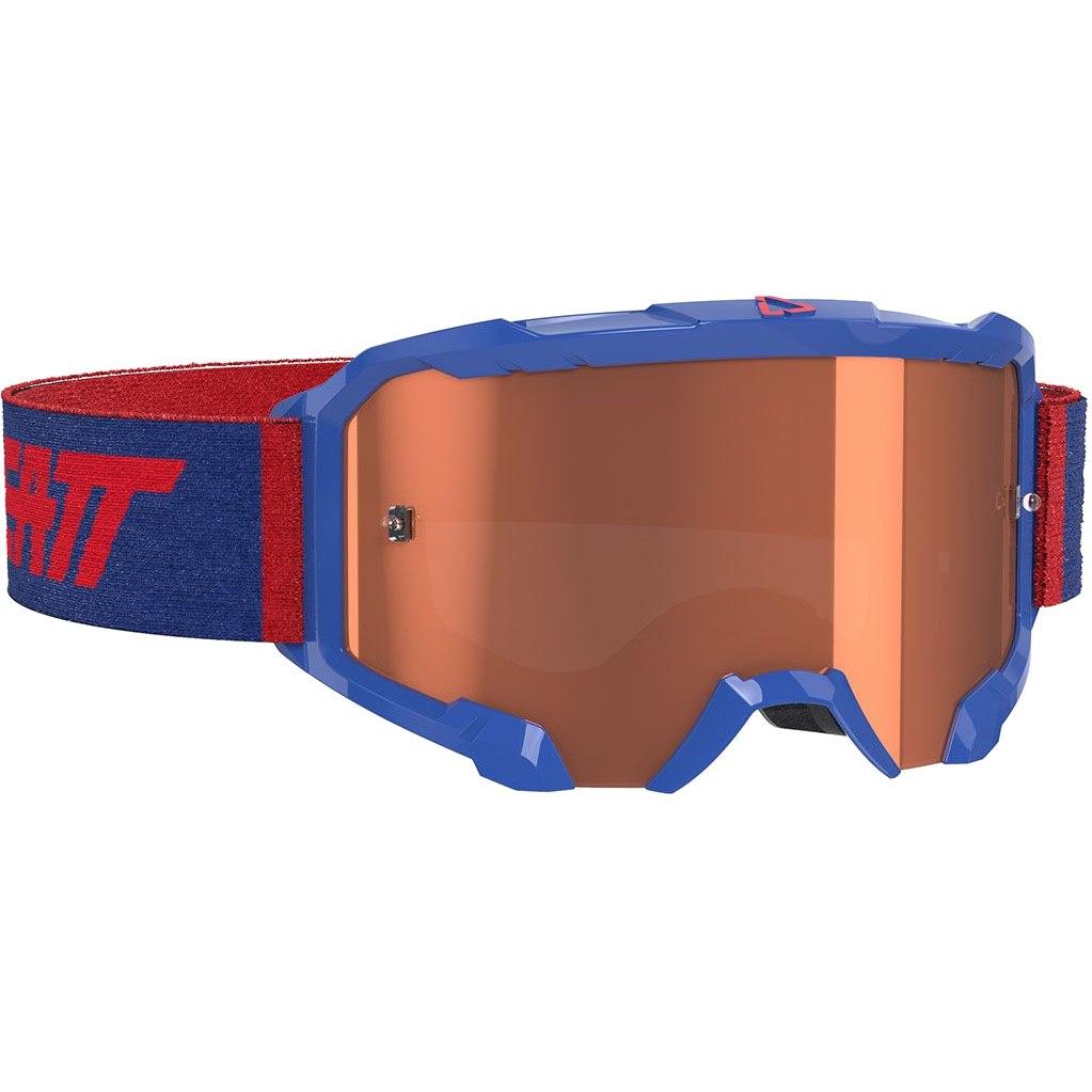 Leatt Velocity 4.5 Goggle Brille - royal rose - anti fog lens