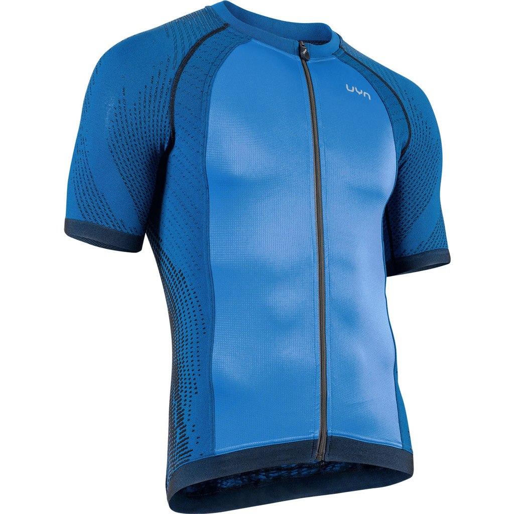 UYN Biking Activyon OW Shirt Short Sleeve - Blue Dodger/Blue/Black