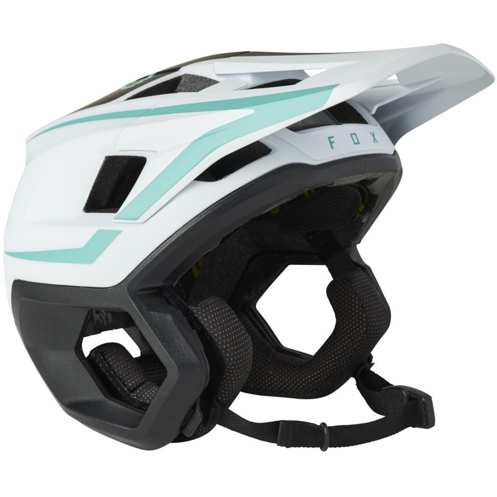FOX Dropframe Pro Trail Helm - teal