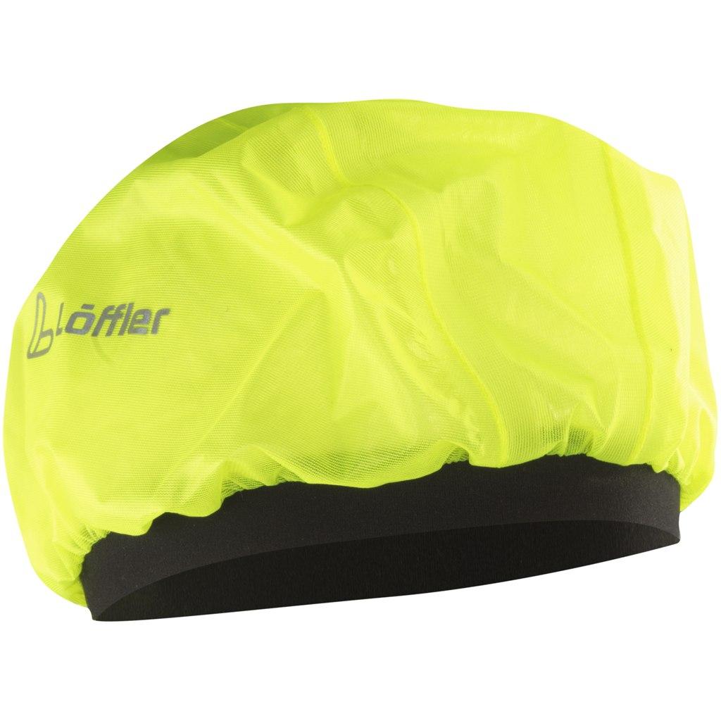 Image of Löffler Helmet Cover 22978 - neon yellow 299