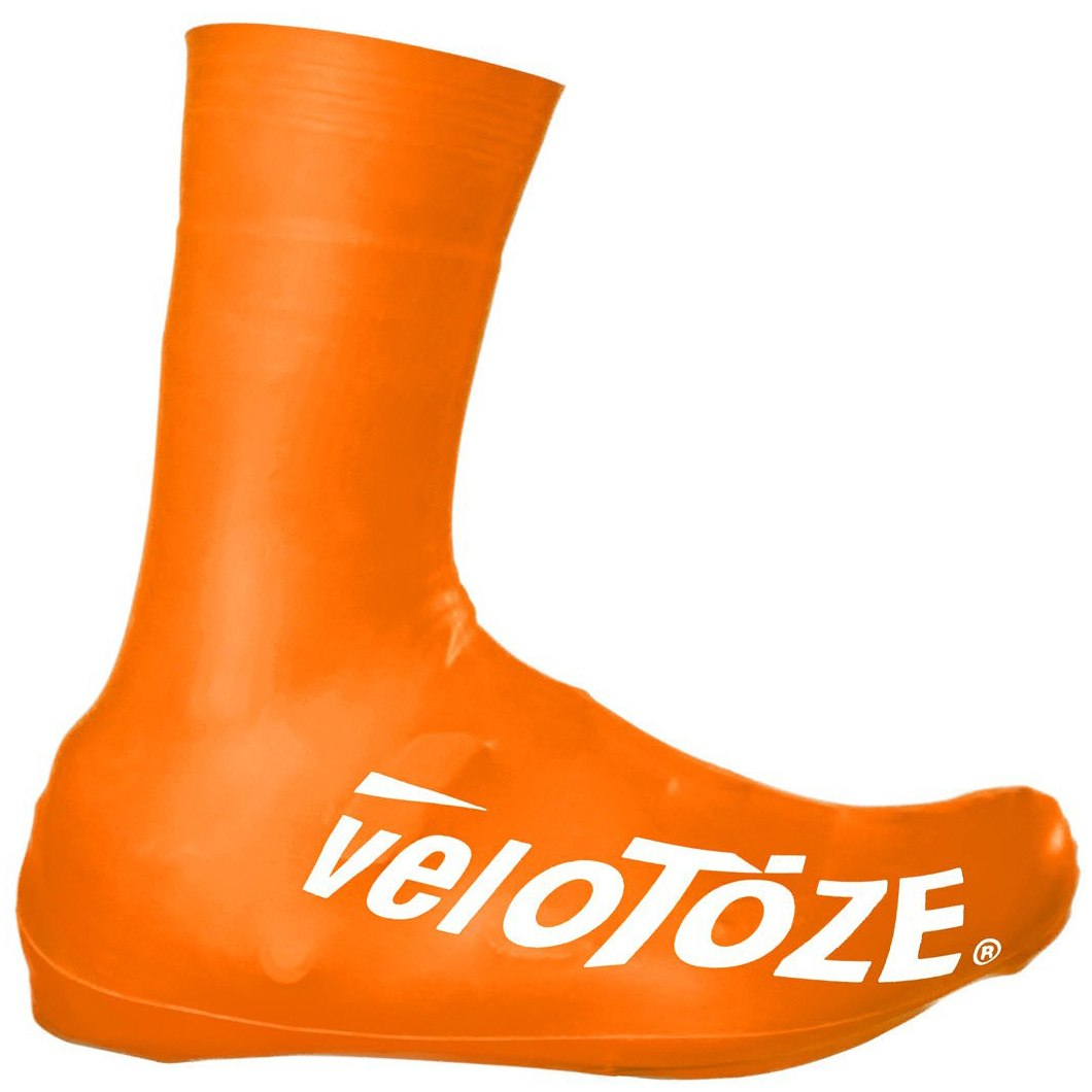Bild von veloToze Tall Shoe Cover Road 2.0 - Überschuh Lang - Viz-orange