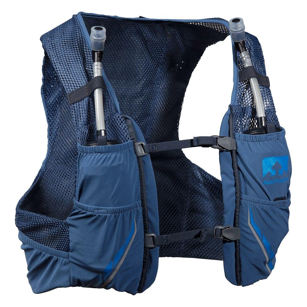 Nathan Sports VaporZach 2.5L - Back Pack + Hydration Pack - True Navy/Blue Nights