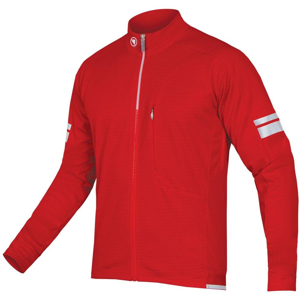 Endura Windchill Jacket - red