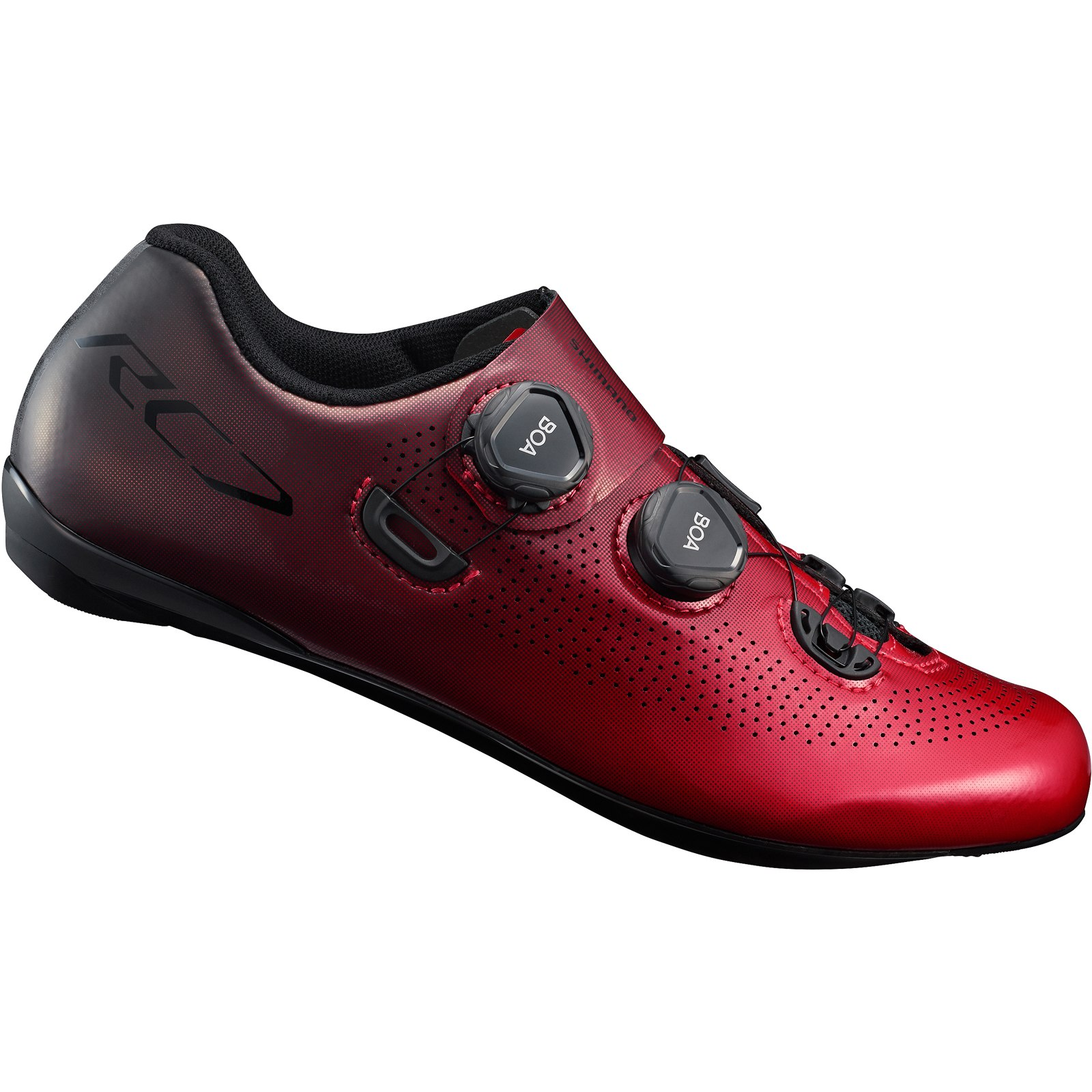 Foto de Shimano SH-RC701 Zapatillas Ciclismo Carretera - rojo