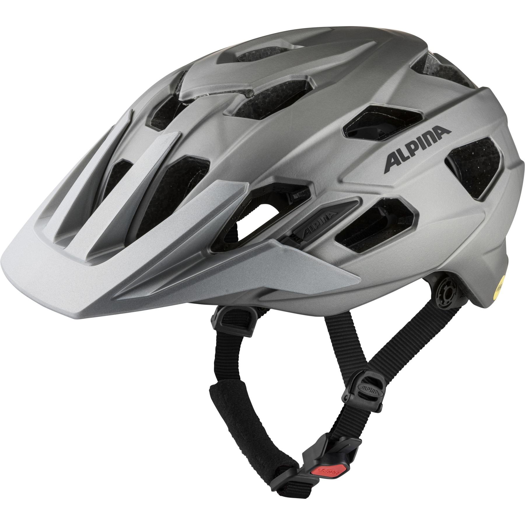 Alpina Plose Mips Helmet - dark-silver matt