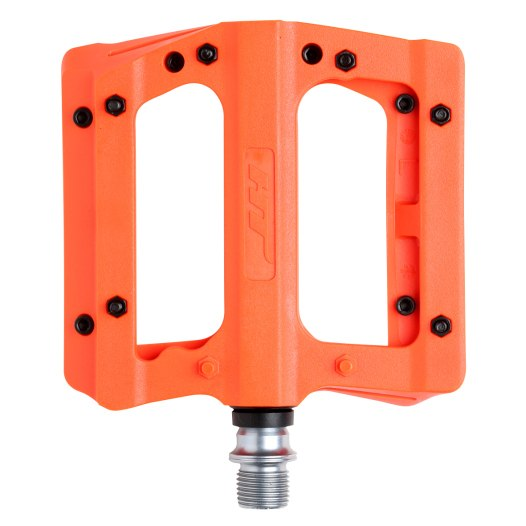 Produktbild von HT PA12A NANO P Flat Pedal Aluminium - orange