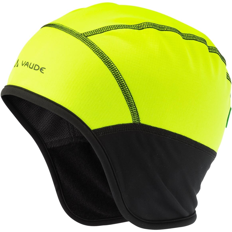 Vaude Bike Windproof Cap III Unterhelm - neon gelb
