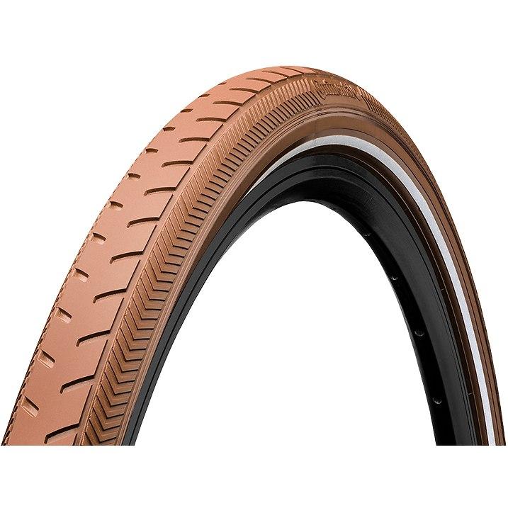 Continental Ride Classic Wire Bead Tire - 28x1.6 Inches - brown Reflex