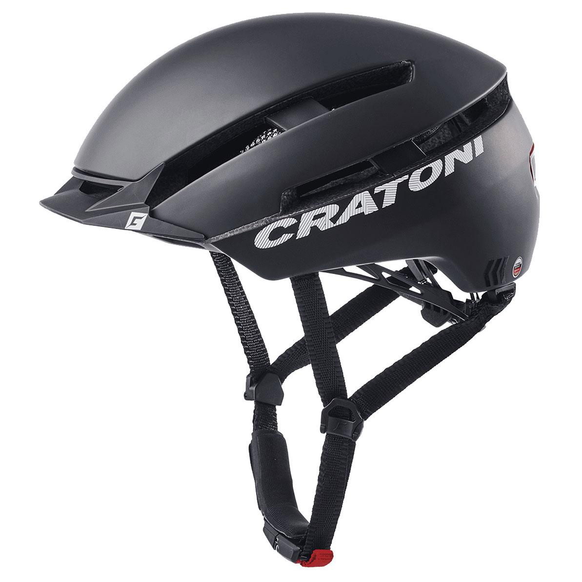 CRATONI C-Loom Helmet - black-white rubber
