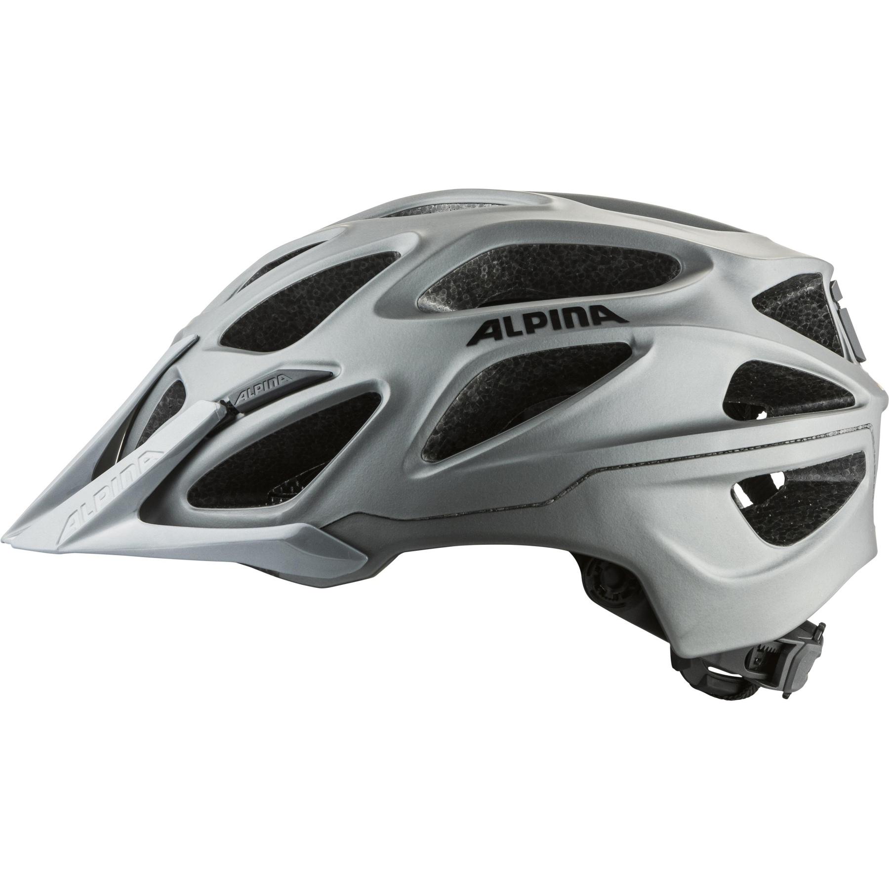 Image of Alpina Mythos 3.0 L.E. Helmet - dark-silver matt
