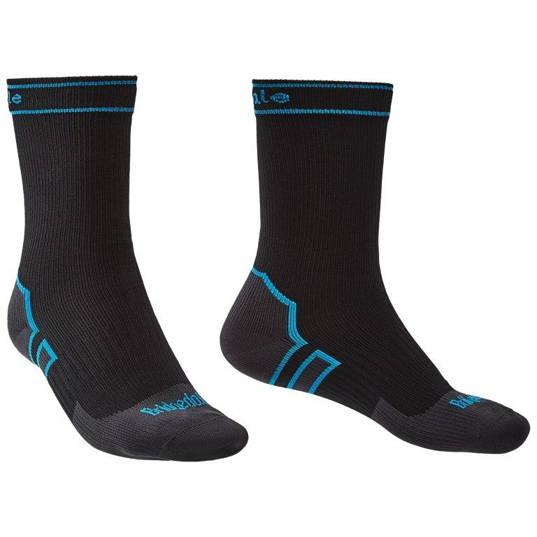 Bridgedale Stormsock Midweight Boot Socks - black/blue