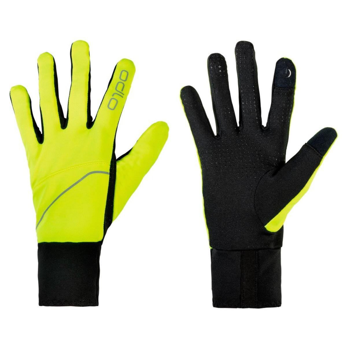 Foto de Odlo Gloves INTENSITY SAFETY Light - safety yellow