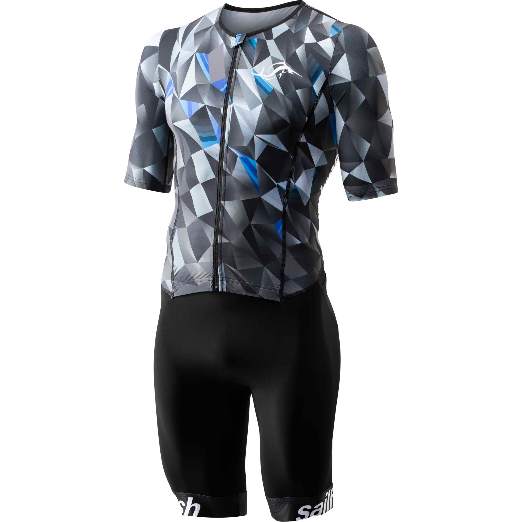 Produktbild von sailfish Herren Aerosuit Comp Square Triathlon-Einteiler 2021 - blau