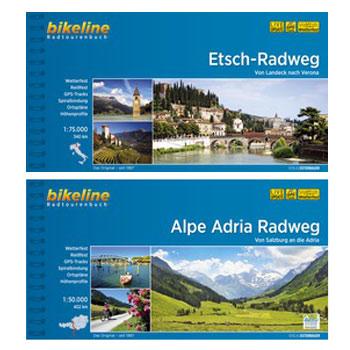 Bild von Bikeline Radtourenbücher - Österreich/Italien
