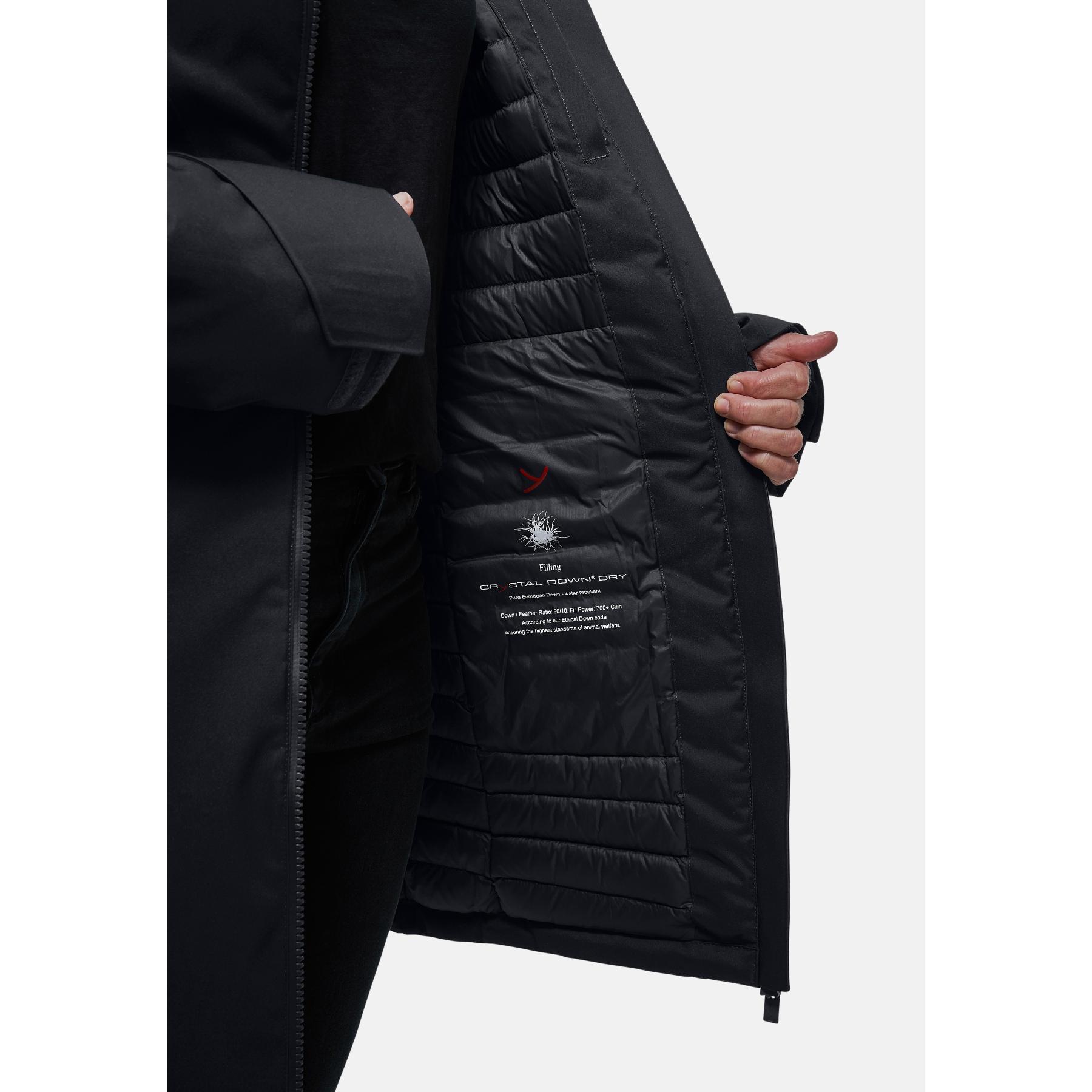 Image of Yeti Women's Raa Down Insulated Shell Coat - black