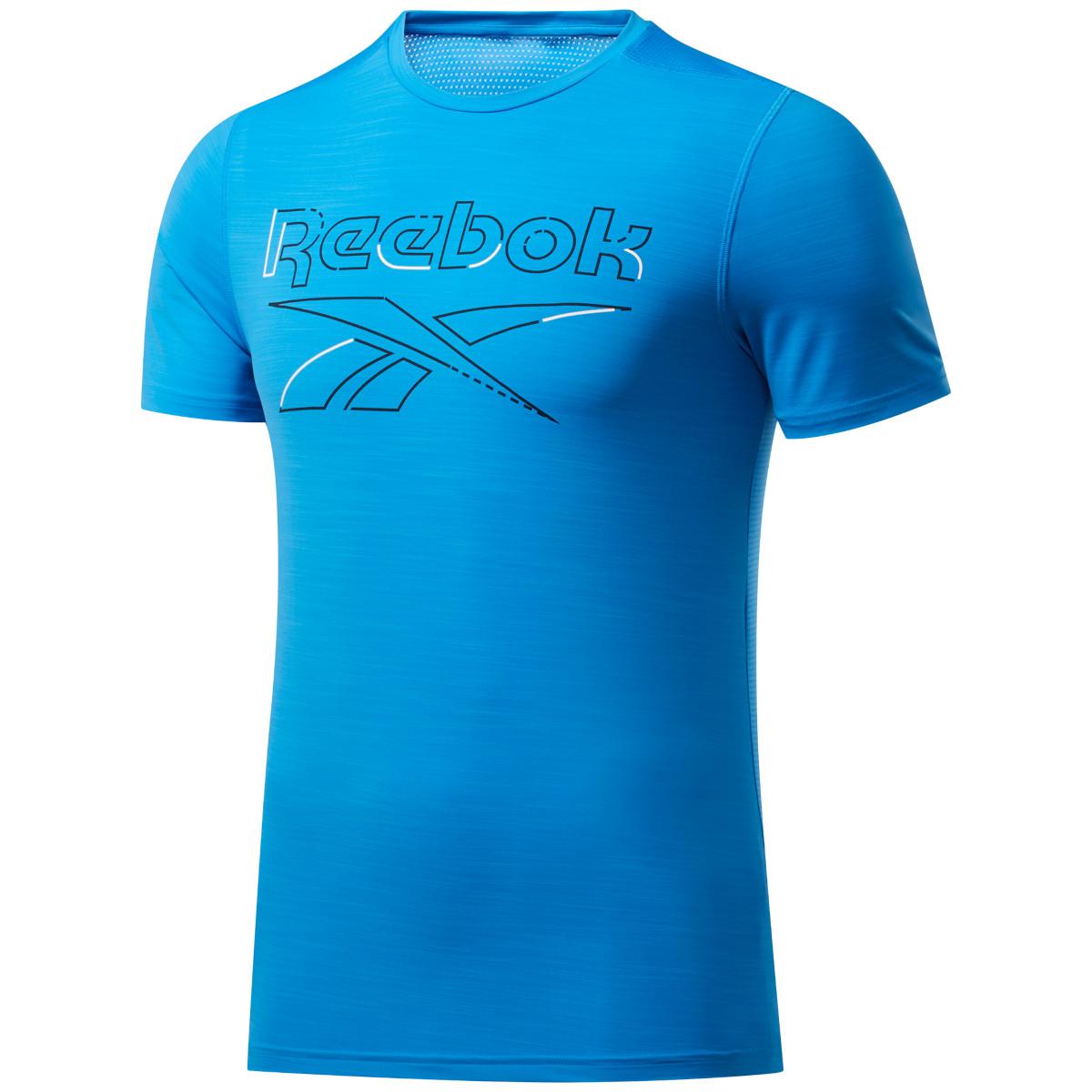 Reebok Männer Workout Ready Activchill T-Shirt - horizon blue FU3284