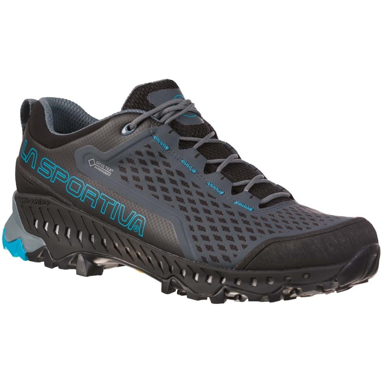 La Sportiva Spire GTX Mountain Wanderschuhe - Slate/Tropic Blue