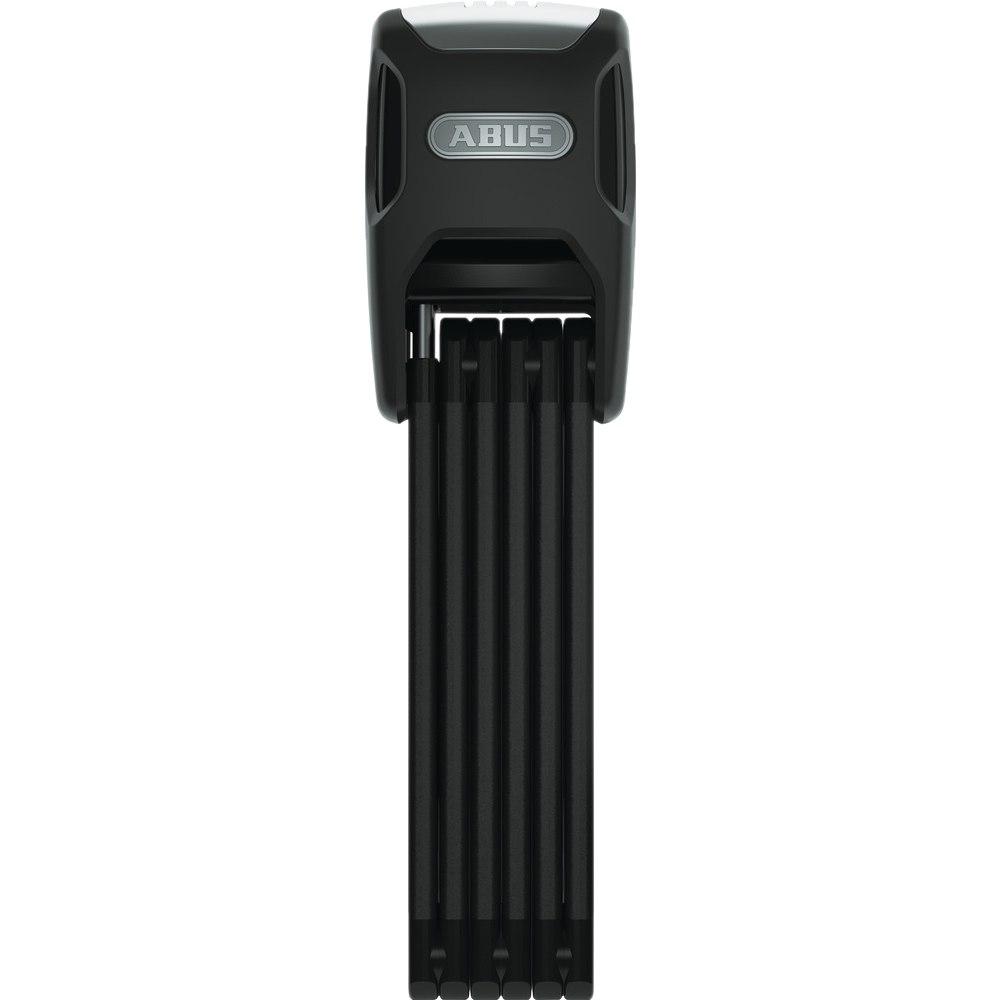 ABUS Bordo Alarm 6000A/90 SH Folding Lock - Black