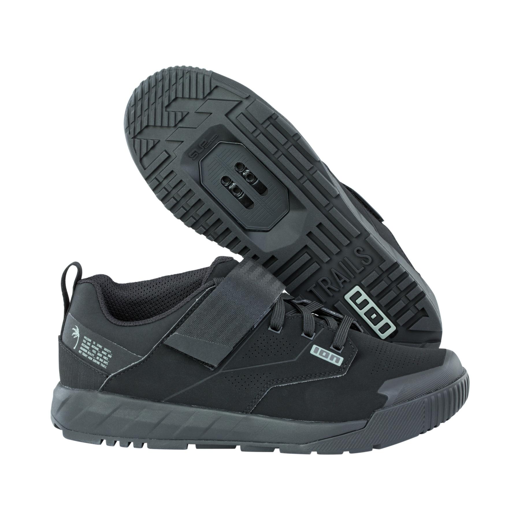 ION SPD Bike Shoes Rascal Amp for MTB - Black