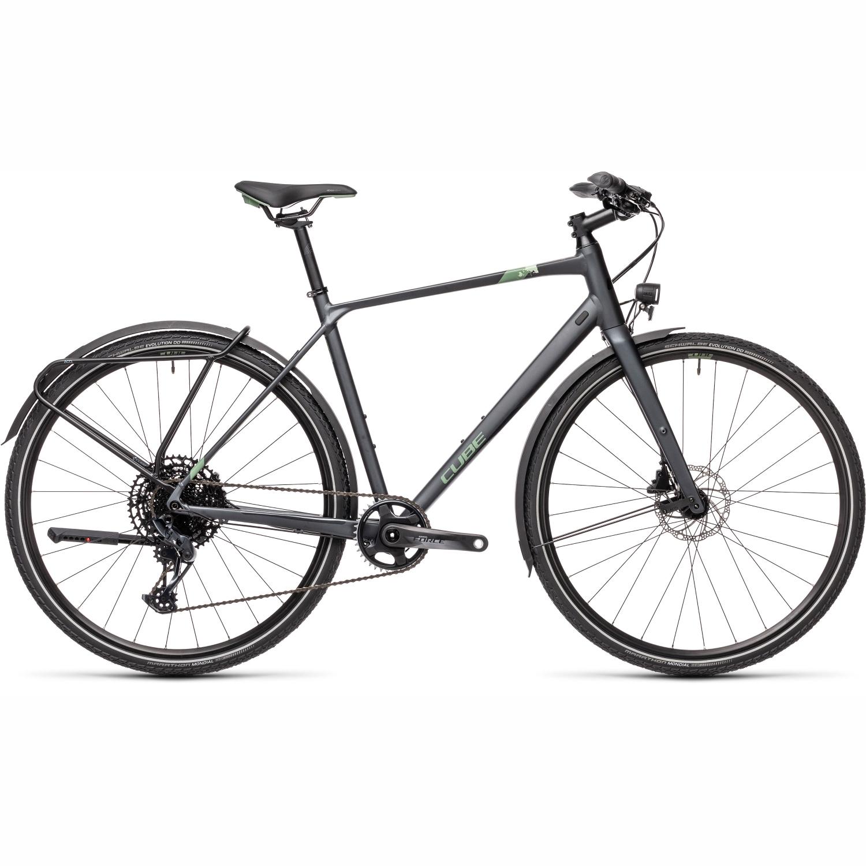 CUBE TRAVEL Sport - Trekking Bike - 2021 - iridium/green
