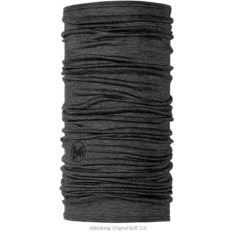 Buff® Lightweight Merino Wool Multifunctional Cloth - Solid Grey