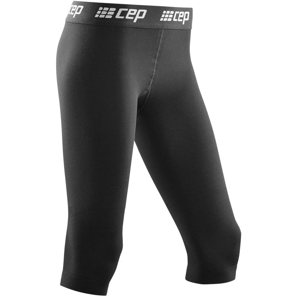 CEP Ski 3/4 Base Tights Women - black