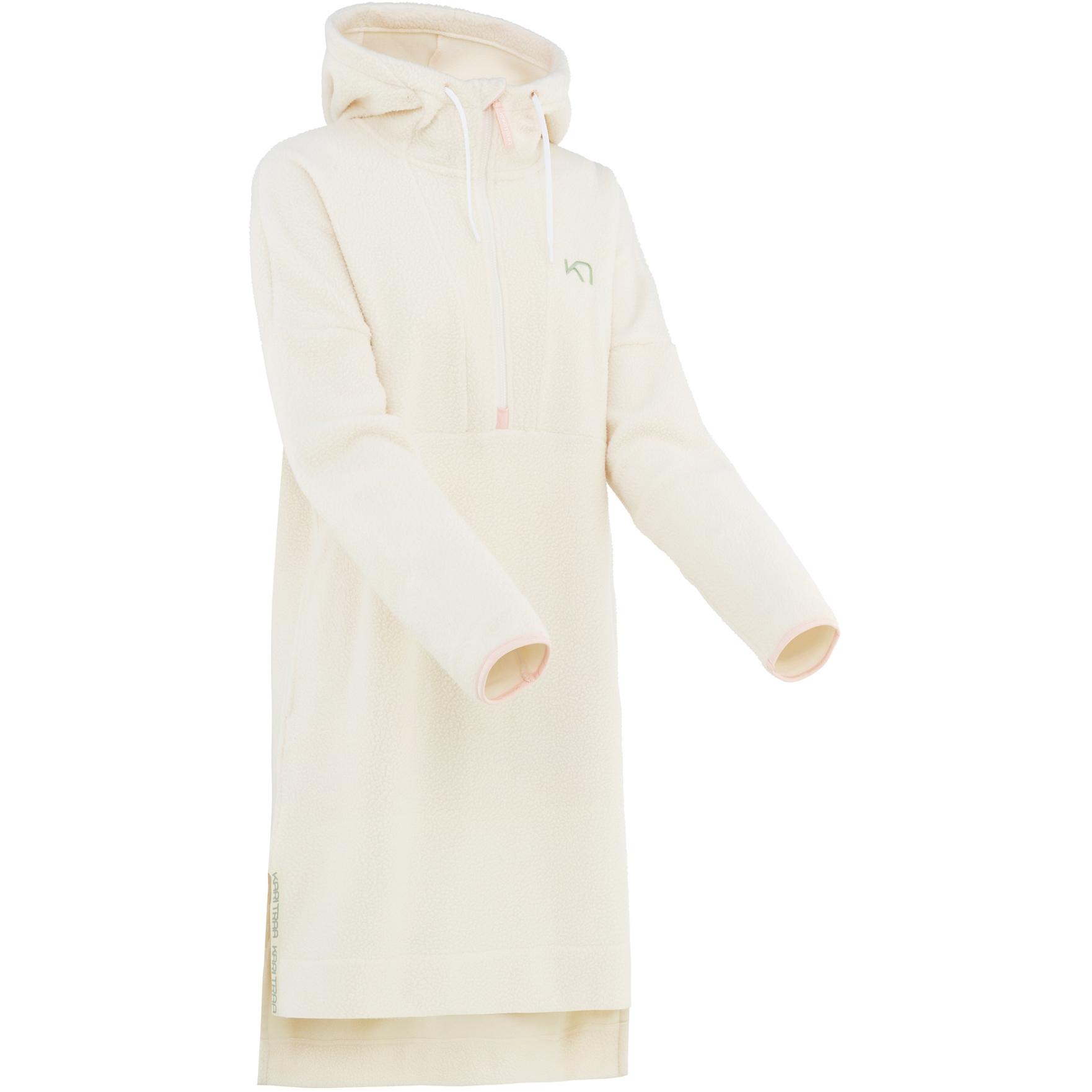 Kari Traa Astrid Women's Hoody Dress - Nwhite