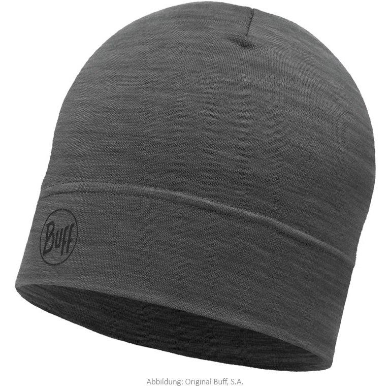 Buff® Lightweight Merino Wool Hat - Solid Grey