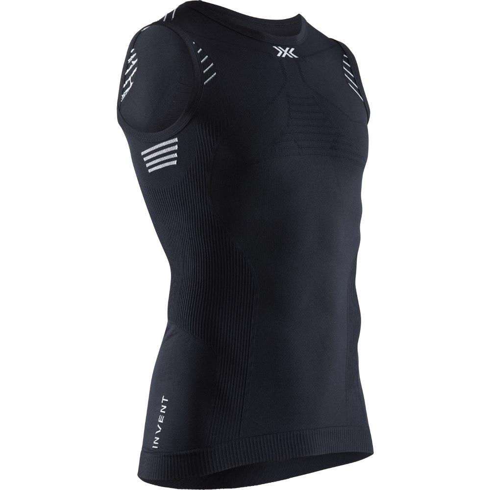 X-Bionic Invent 4.0 LT Singlet Unterhemd für Herren - opal black/arctic white