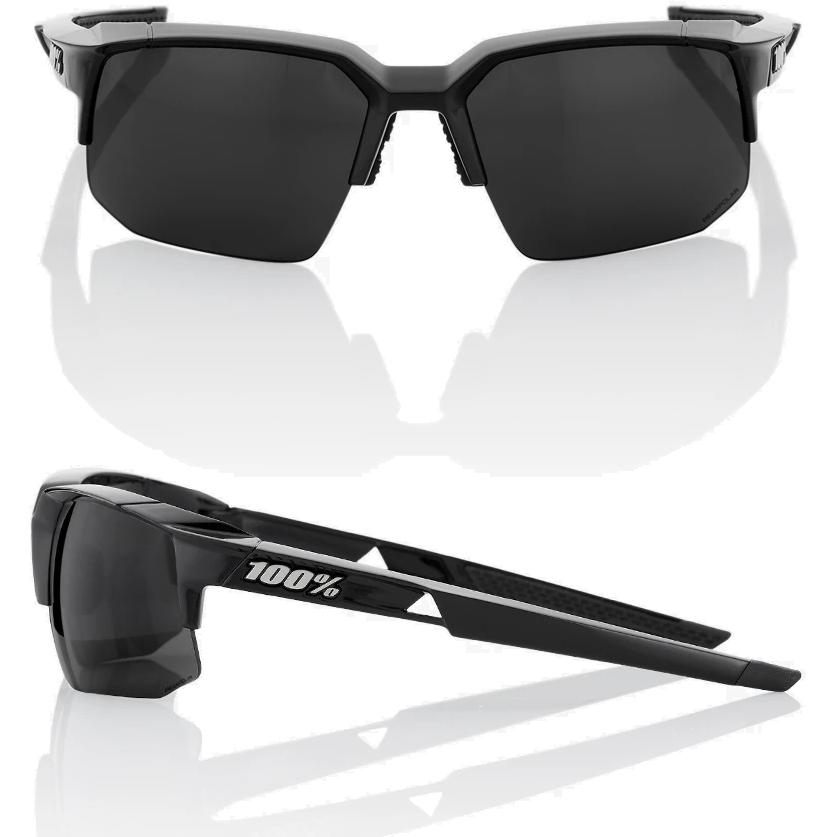 Imagen de 100% Speedcoupe - PeakPolar Lens Gafas - Polished Black