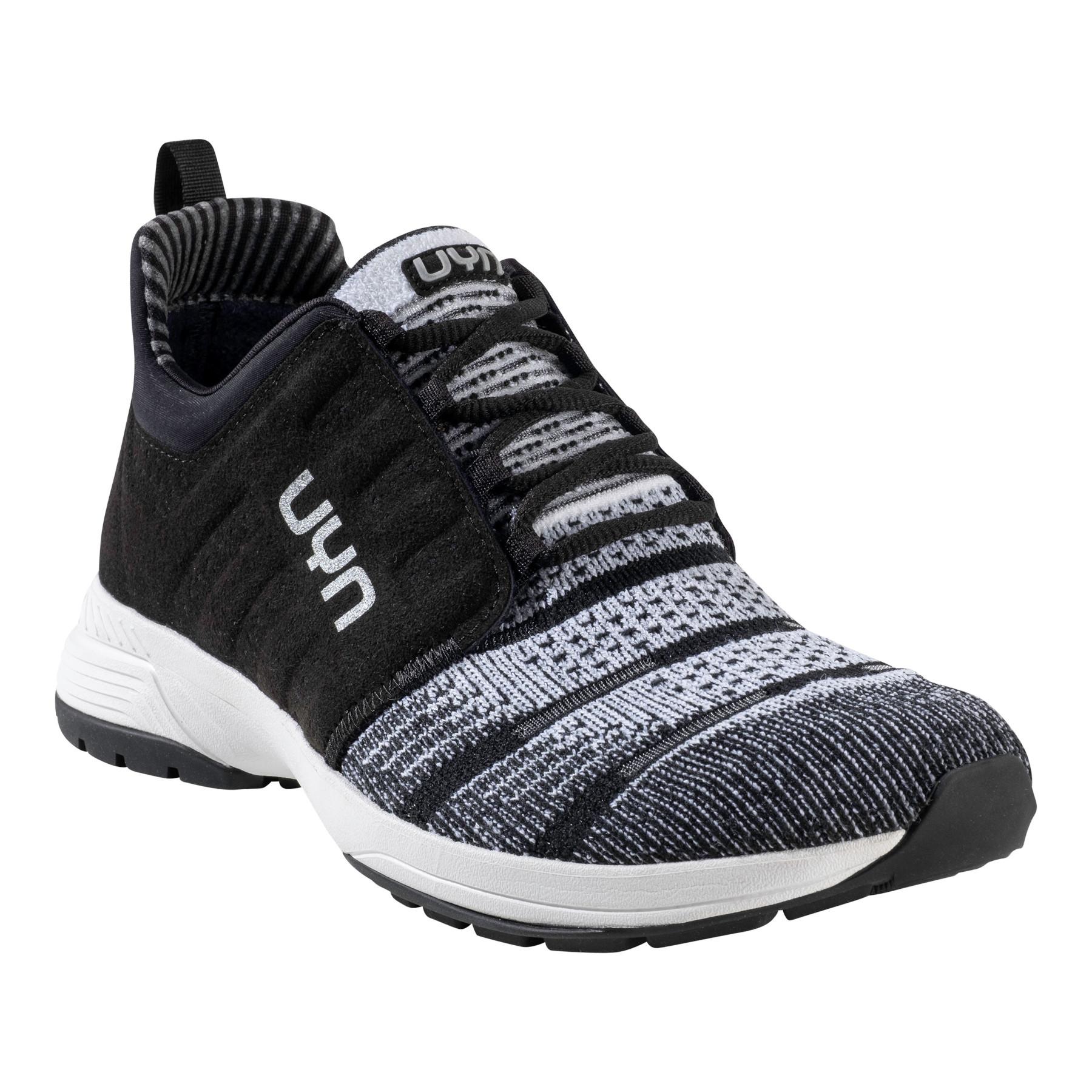 UYN Air Dual Tune Running Shoes - White/Black
