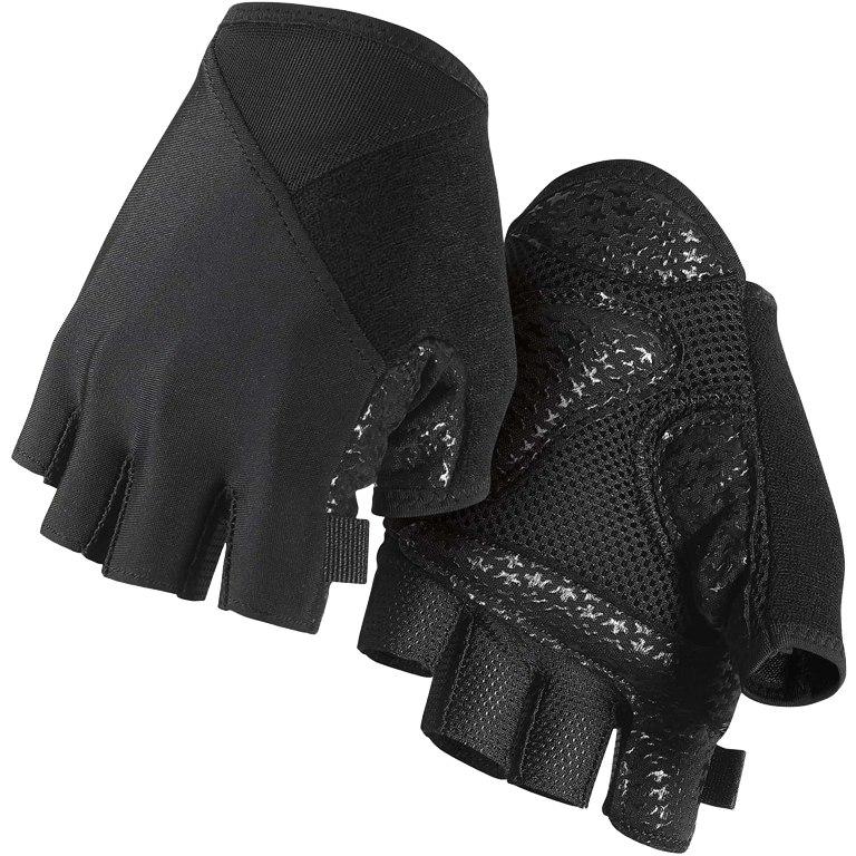 Assos ASSOSOIRES SummerGloves S7 Gloves - blackSeries blackVolkanga