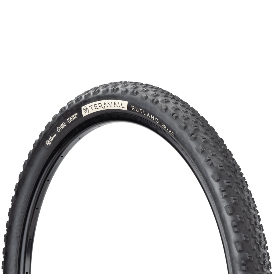 Picture of Teravail Rutland Folding Tire - Light and Supple - 29x2.2 Inch - black