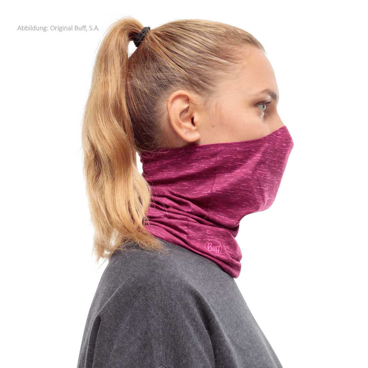 Image of Buff® Filter Tube Facial Mask - Pump Pink Htr