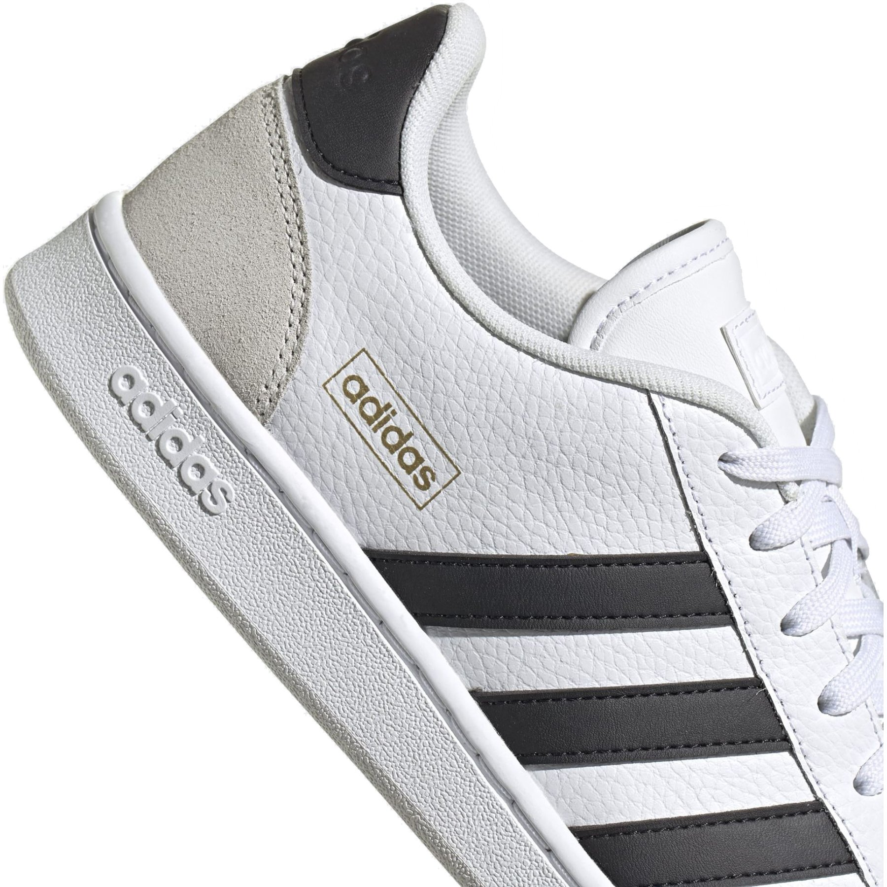 Image of adidas Grand Court SE Shoes - cloud white/core black/orbit grey FW3277