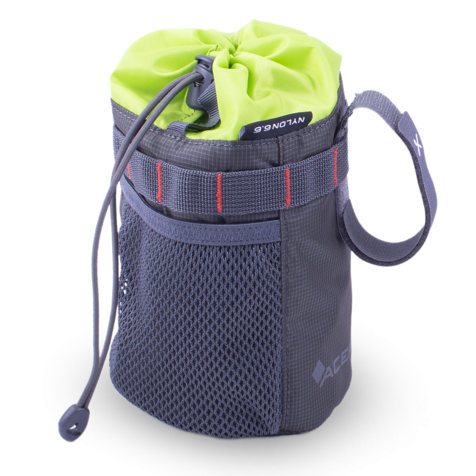 Acepac Fat Bottle Bag - grey